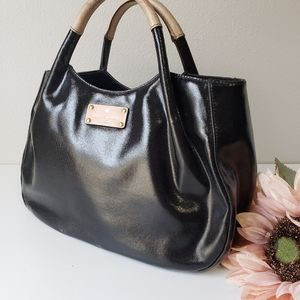 Kate Spade Stevie patent leather tote bag purse